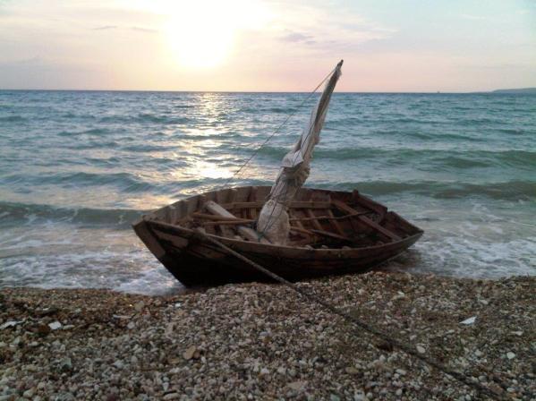 'Homemade' sailboat