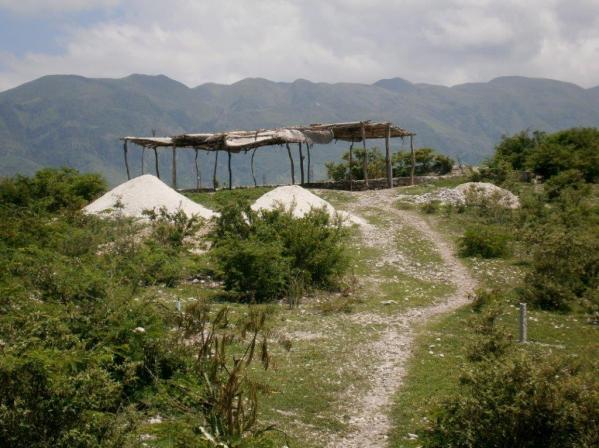 Prayer house on the mountain