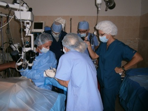 Surgical Team led by Dr. Eric Purdy